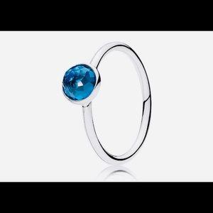 December Droplet Ring Size 8